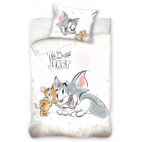 Kinderbettwäsche Disney 100x135 + 60x40 Tom & Jerry