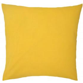 Kissenbezug 40x40 Baumwolle 100% Gelb
