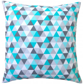 Kissenhülle 40x40 mit Geometrischen Mustern