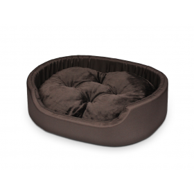 Hundebett Katzenbett CLASSIC Braun