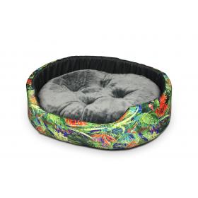 Hundebett Katzenbett CLASSIC Dschungel
