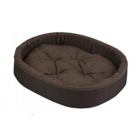 Hundebett Katzenbett mit Kissen Braun