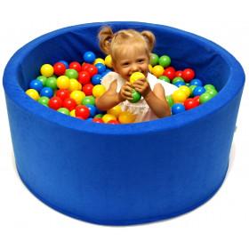 Kinderpool Bällebad 90x40x5cm 200/400 Bällen 7cm