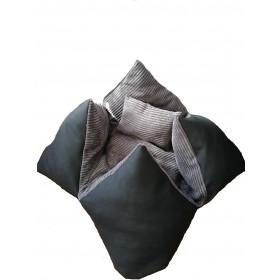 Hundebett Orikissen Lincoln Grey
