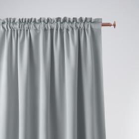 Vorhang AURA Band Hellgrau 140x250