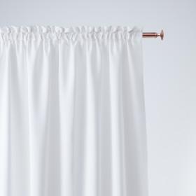 Vorhang AURA Band Weiß 140x250